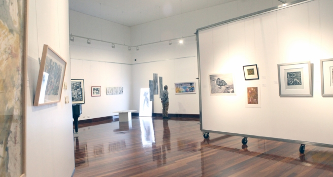 A view of part of the exhibition (photo Cheryl Nonmus from On Q Photography)