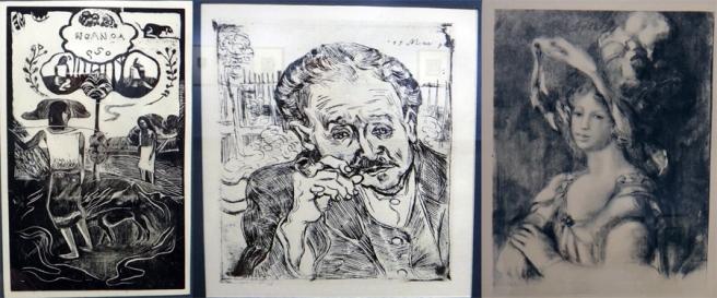 Gauguin, Van Gogh, Renoir