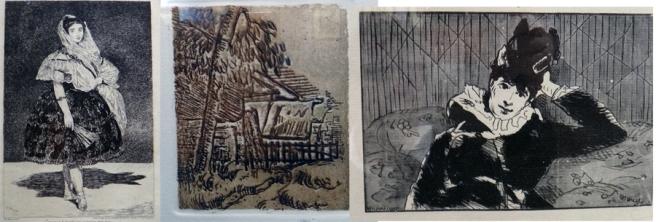 Manet, Cezanne, manet